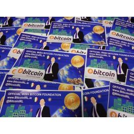 Official Irish Bitcoin Foundation sticker