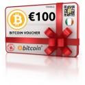 €100 Bitcoin Voucher