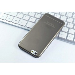 iPhone 6 silicon case (Transparent Black)