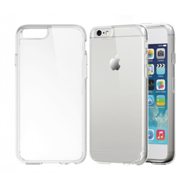 the latest 973bd d86e0 iPhone 6 Plus silicon case (Clear) - GSMsolutions.ie Online Store