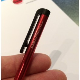 Limited Edition Lazer Etched GSMsolutions Metal Stylus Pen