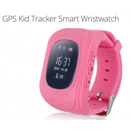 Kids Mobile Phone GPS Tracker Watch (Pink)