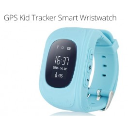 Kids Mobile Phone GPS Tracker Watch (Blue)
