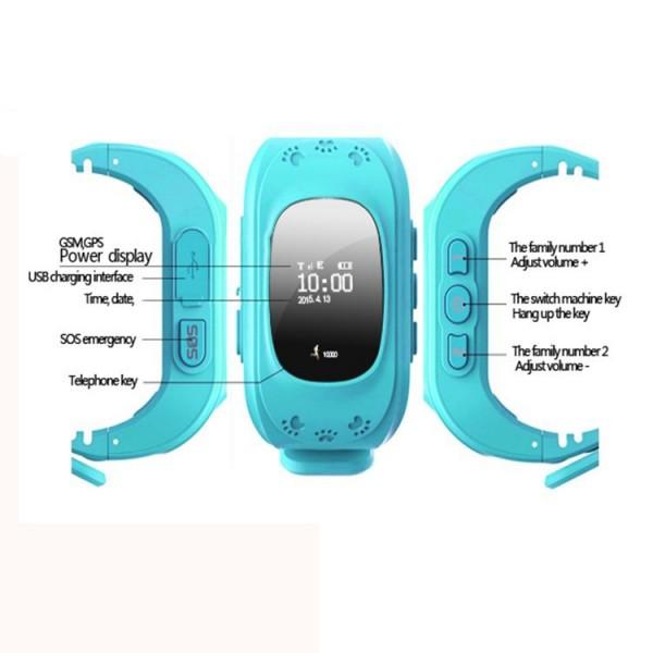 Kids GPS Tracker Smart Wristwatch Mobile Phone