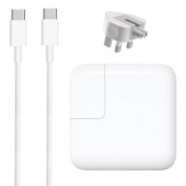 29W USB-C Power Adapter for Apple Macbook + FREE Type C cable