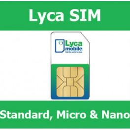 Lyca Mobile Prepay SIM card