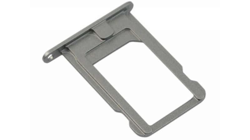 the latest 5f6eb 52389 iPhone SE SIM card tray (Silver) - GSMsolutions.ie Online Store