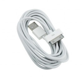 10FT 30-pin USB Cable